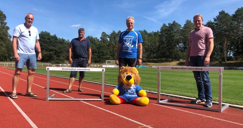 Löwenspiele in Löwenberg: Gelebte europäische Verständigung auf sportliche Art