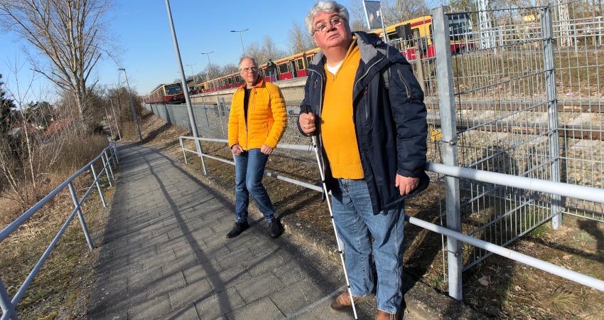 Aufzug zum S-Bahnsteig Lehnitz soll Anfang 2023 in Betrieb gehen