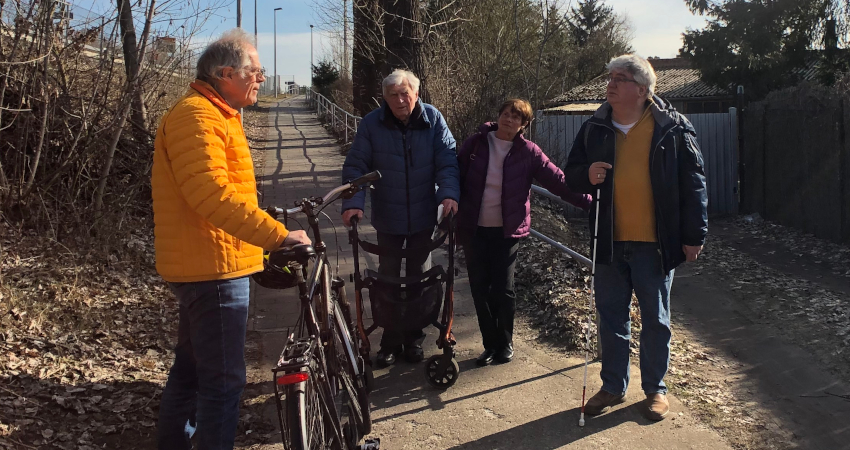 Barrierefreiheit mangelhaft: Rampe am S-Bahnhof Lehnitz