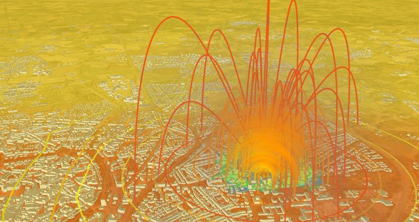 Simulationssoftware kann für vereinfachte Evakuierungen um Bomben-Fundorte in Oranienburg eingesetzt werden