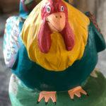 ... ein Huhn ...