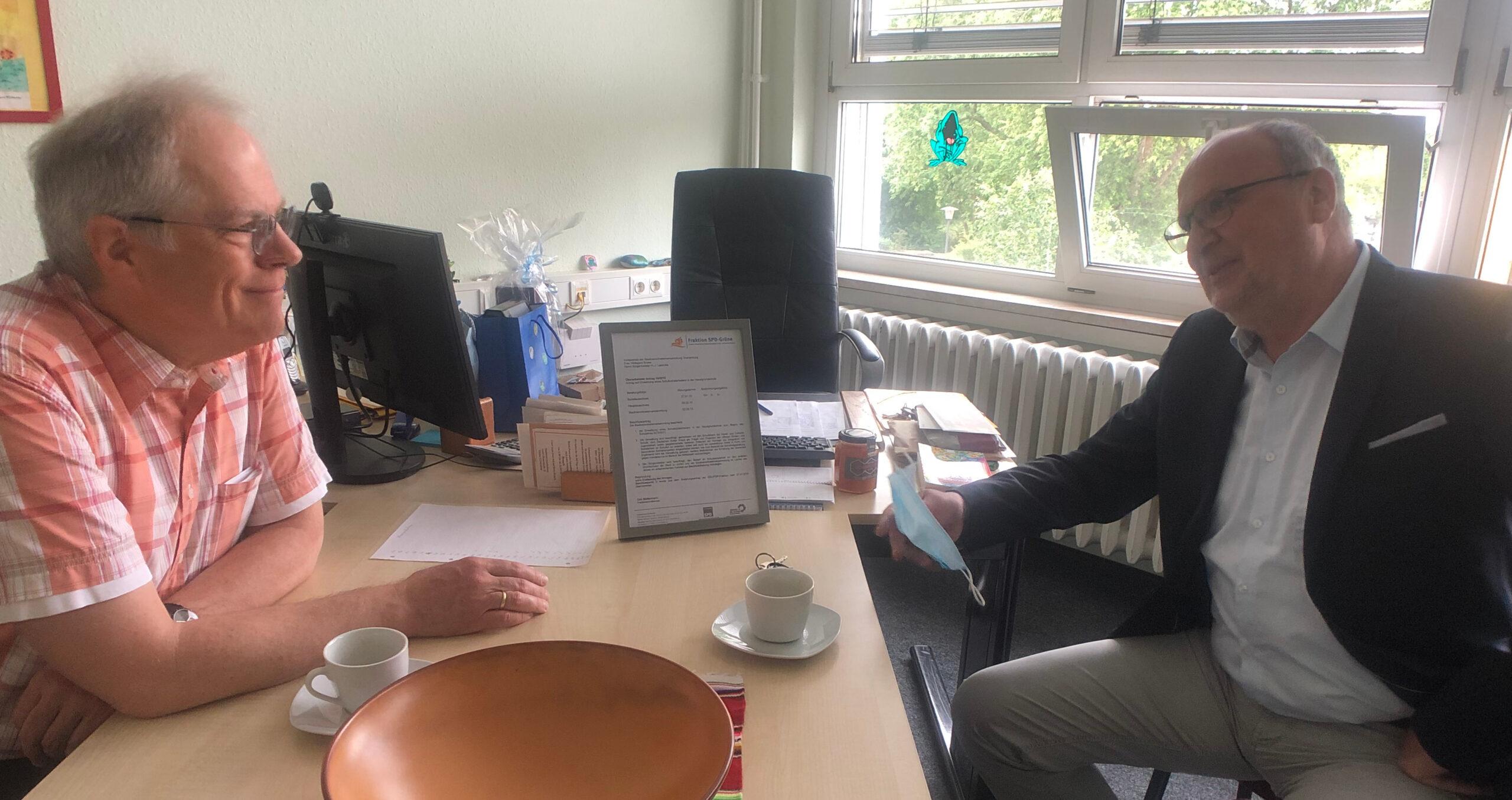 Ein engagierter Streiter für die Schulsozialarbeit in Oranienburg: Zum Abschied von Andreas Deutschländer