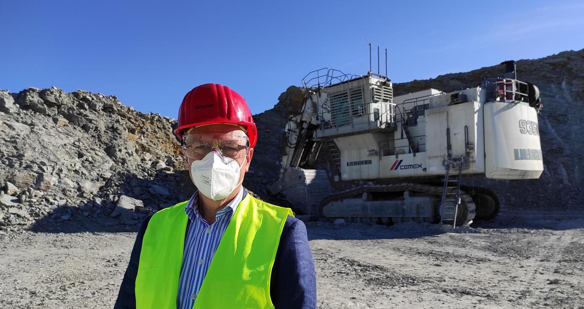 Zementwerk Rüdersdorf auf dem Weg zur Klimaneutralität