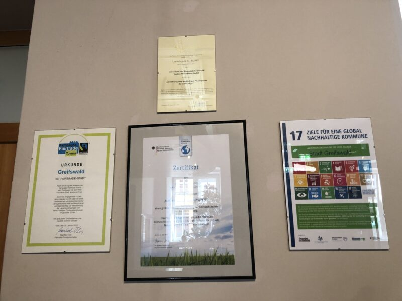 zertifizierte Nachhaltigkeit in Greifswald