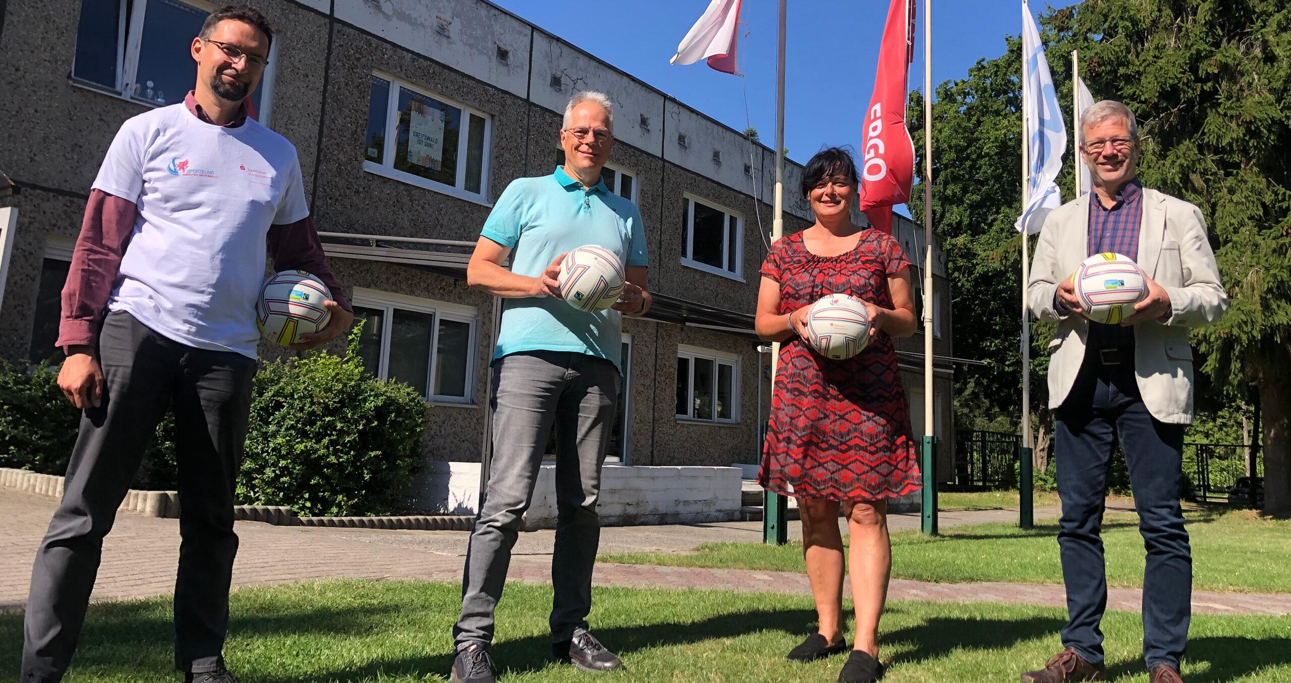 Sportbund als Botschafter für Nachhaltigkeit in Greifswald