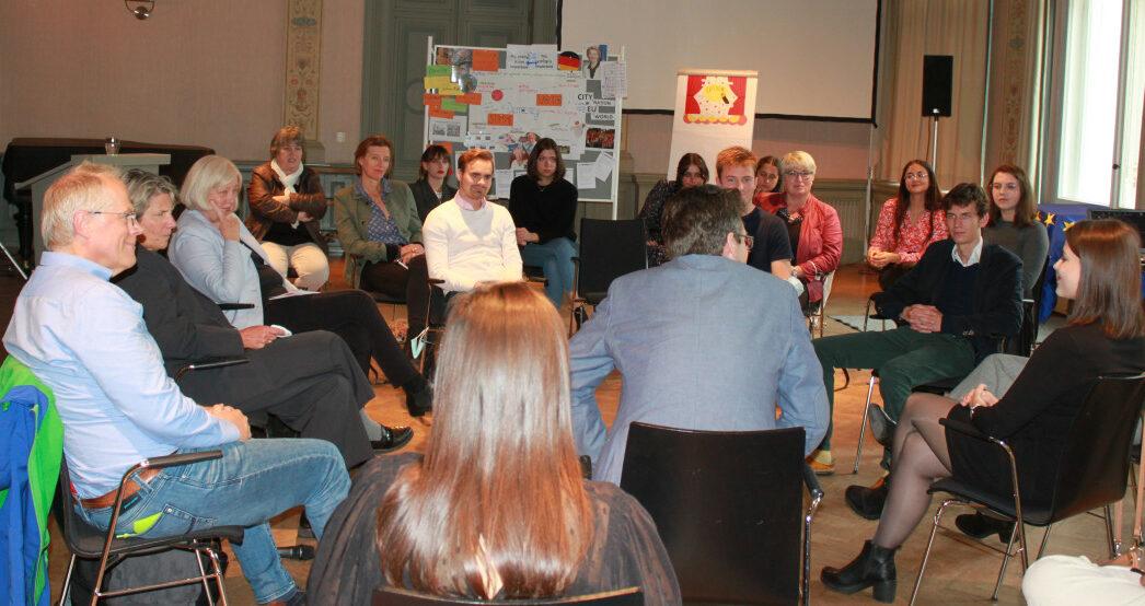 Europamobil ermöglicht internationale Begegnungen in Brandenburg